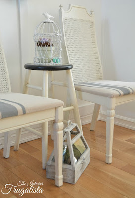 Farmhouse Cane Back Chairs Makeover