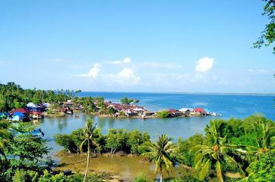 wisata pulau tamang madina
