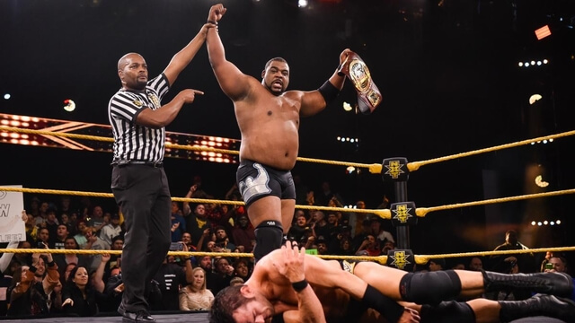 Keith Lee won the North American Championship Title