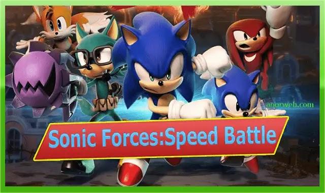 تحميل sonic forces mod apk برابط مباشر للأندرويد
