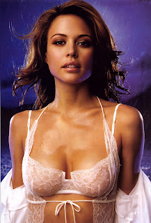 Josie Maran Assets Looking So Cool In White Lingerie