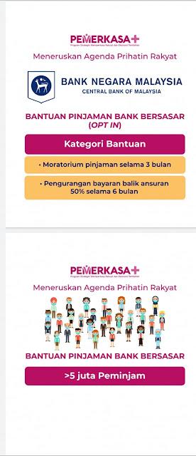 Bantuan PKP 3.0 LOCK DOWN PEMERKASA Tambahan atau PEMERKASA+