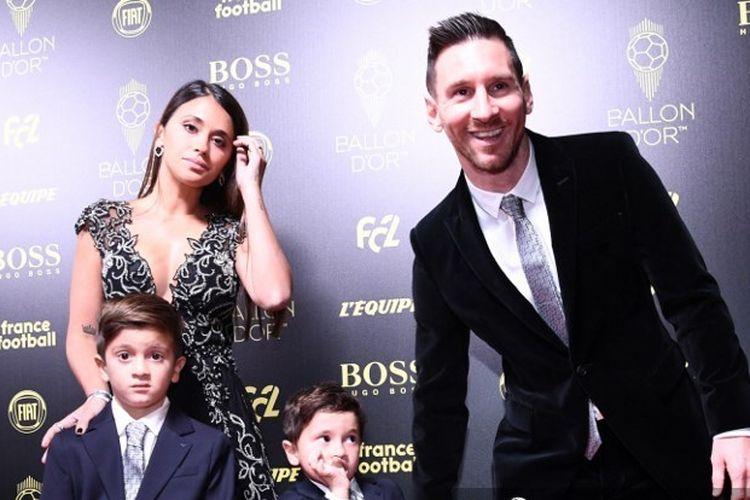 Isi Pembicaraan Messi dengan Istri dan 2 Anaknya Saat Dirinya Ingin Putuskan Hengkang