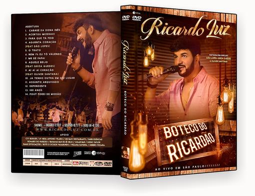 DVD-R Boteco do Ricardão – OFICIAL