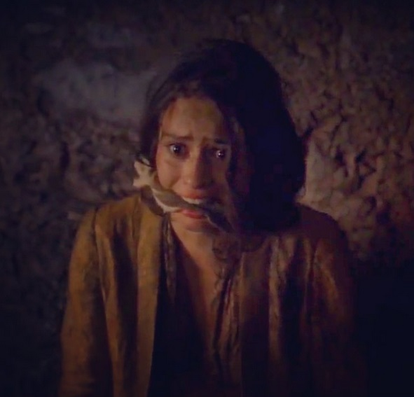 Rosabell Laurenti Sellers Cleave gagged in Game of Thrones