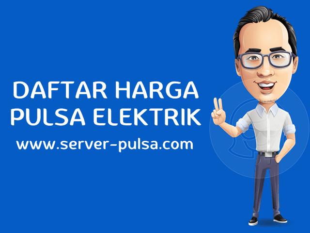 Daftar Harga Pulsa Elektrik Murah All Operator Server-Pulsa.com