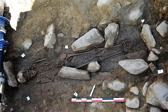 Pre-Roman burials found in the western Alps