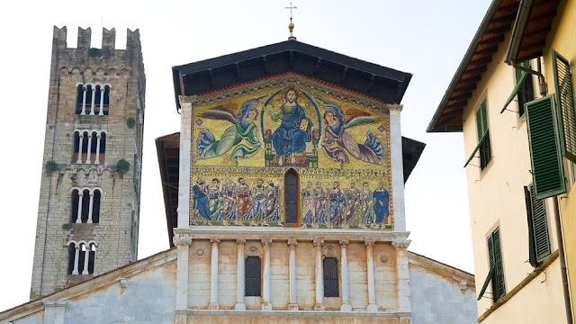 O que ver/fazer na Basílica de São Frediano em Lucca
