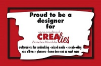 http://www.all4you-wilma.blogspot.com Proud to be a designer for Crealies