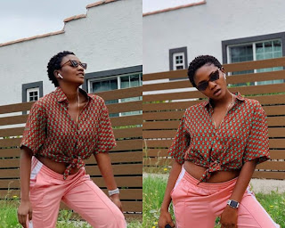 Singer Simi shades people who says she doesn't know how to dress