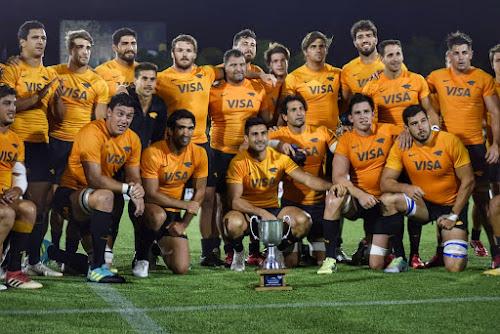 Jaguares se enfrentó a los Teros, en el primer partido nocturno de rugby.