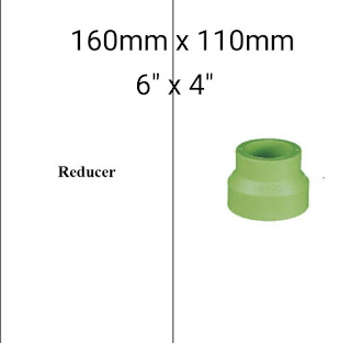 Jual reducer pipa ppr lesso 160mm x 110mm