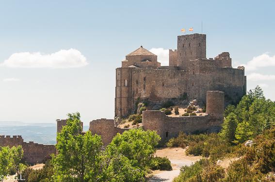 Castillo de Loarre. Recorrido por Huesca