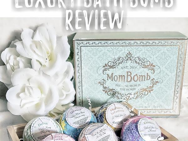 Mom Bomb Luxury Bath Bomb Review