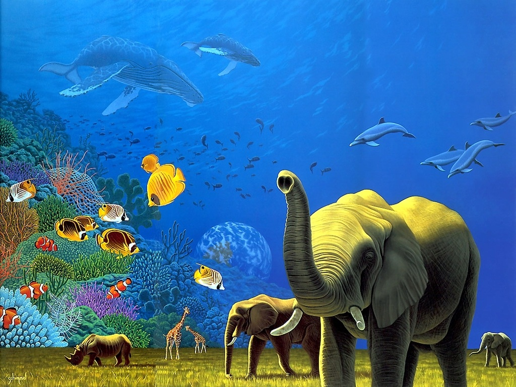 Welcome to wallpapers world animals 3d wallpapers - 3d animal wallpaper ...