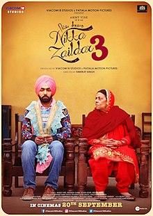 Nikka Zaildar 3 (2019) Punjabi Full Movie DVDrip Download mp4moviez