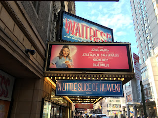 Jessie Mueller Waitress Marquee On Broadway