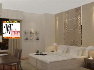 workshop custom setting interior furniture - master bedroom kamar tidur utama dan kids bedroom kamar tidur anak - Maharumi Furniture