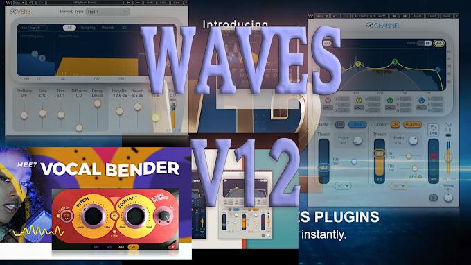 Waves Complete 12 v19.02.21  Vocal Bender, VST, VST3, AAX