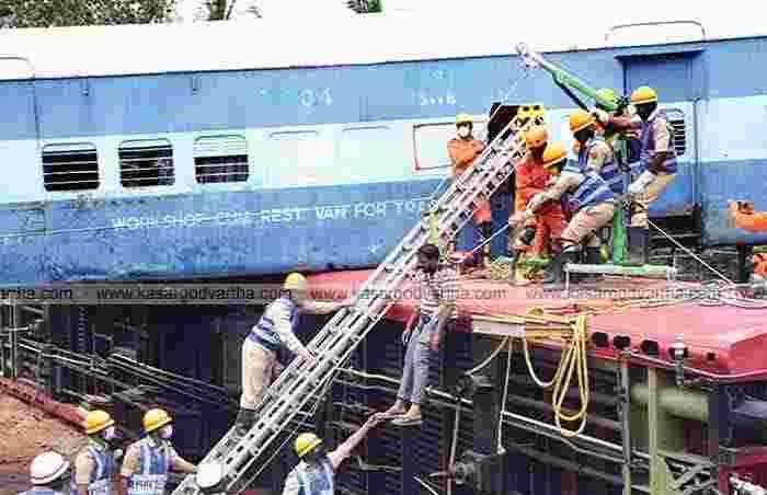 Mangalore, Karnataka, News, Mysore, Top-Headlines, Accident, Train, Railway, Railway-track, Doctors, Police, Railway organised Mock Drill.