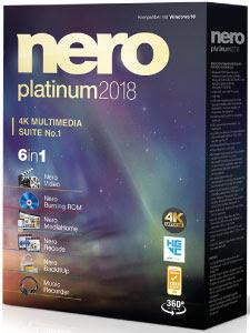 Nero Platinum 2018 + Crack Português-BR