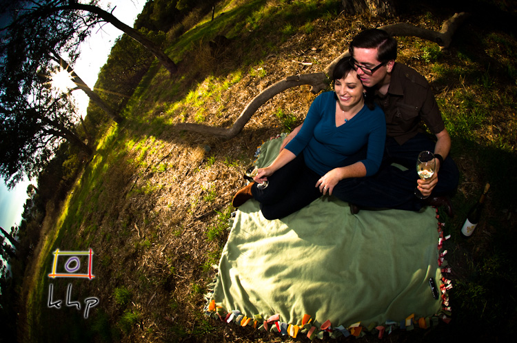 Jacqueline and Douglas' Engagement Session - From The Eye of the Fish-Eye