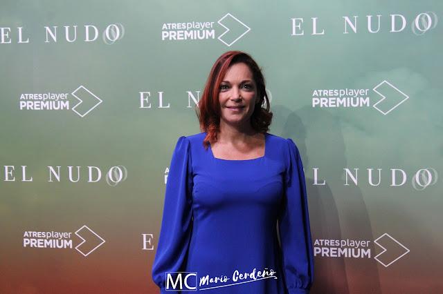 Cristina Plazas en la presentación de 'El Nudo'