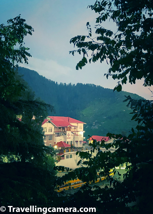 Above photograph shows a view of main school campus from Beeji's Park. Dalhousie Public School has a huge hill with multiple facilities spread across this hill. Whole area, including road crossing through this hill is maintained by Dalhousie Public School. Above photograph shows a very small part of administrative unit. There are multiple hostels across the hills.