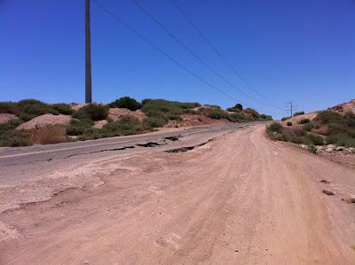 Nichols Road Earthquake Damage