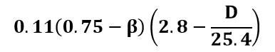 Término adicional para el coeficiente de descarga