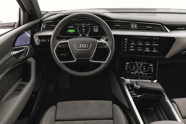 Audi e-tron Sportback chega ao Brasil: preço R$  512 mil
