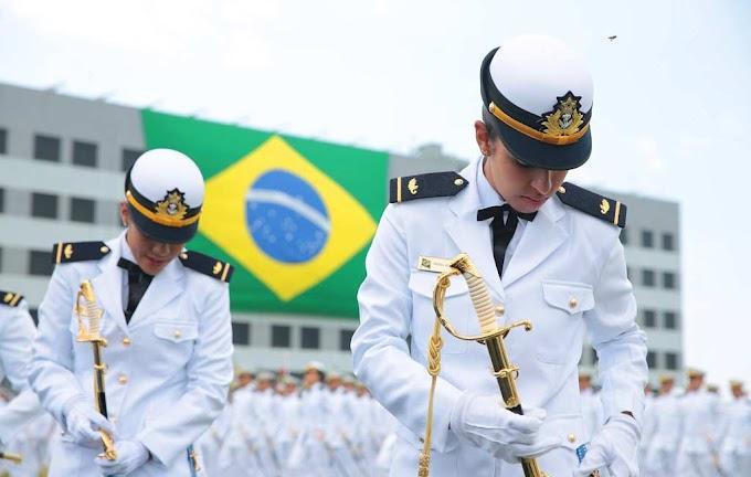 Marinha do Brasil abre vagas para oficiais com nível superior