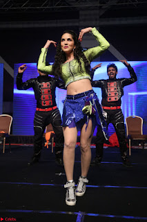 Sunny Leone Dancing on stage At Rogue Movie Audio Music Launch ~  120.JPG