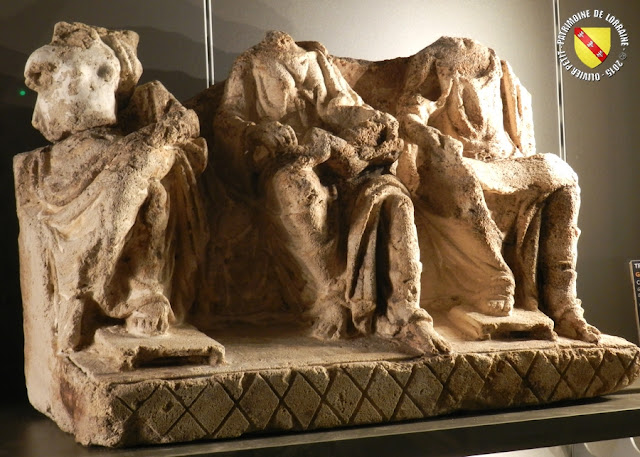GRAND (88) - Musée : Sculptures gallo-romaines