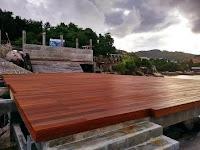 decking outdoor kayu bali