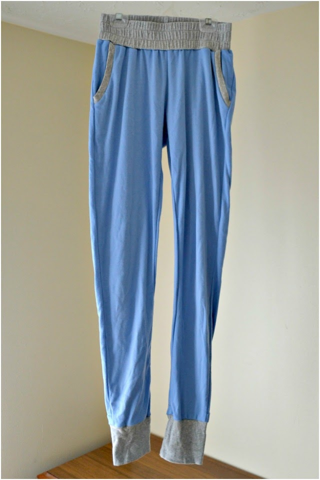 Me Made: Interlock Joggers // Hudson Pants