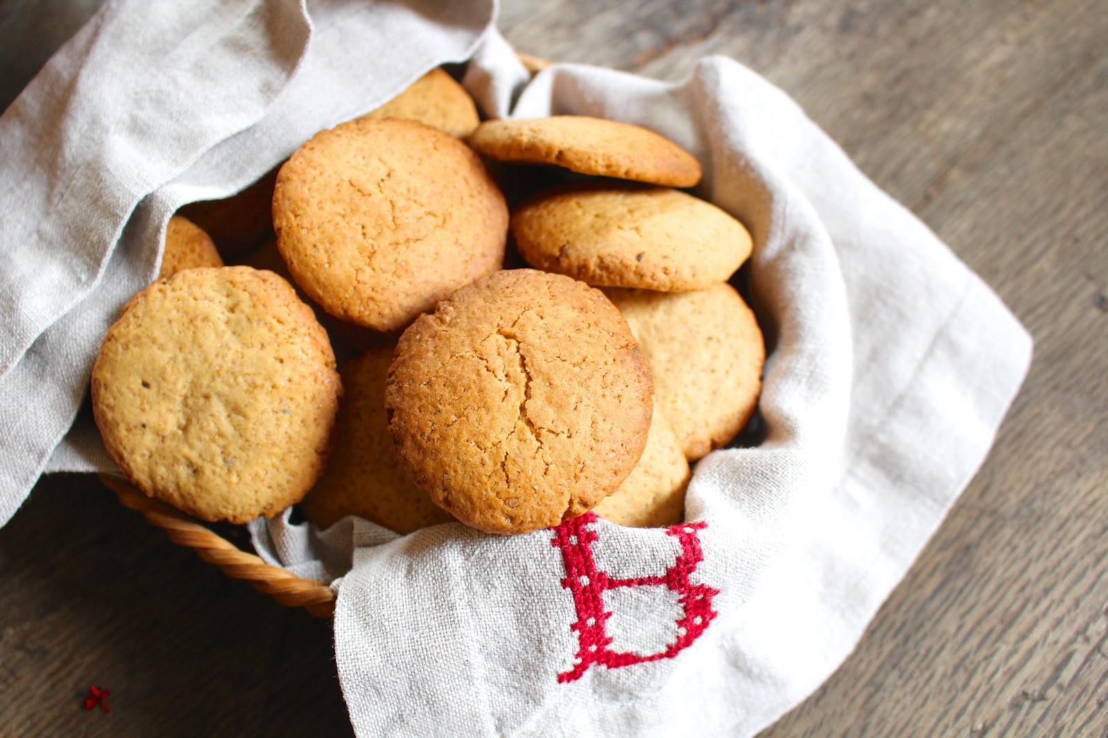 Chai spiced cookies recipe