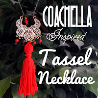 diy coachella jewelry, diy coachella accessories, diy tassel necklace, lauren banawa