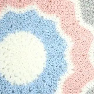 Tapete 12 Puntos a Crochet