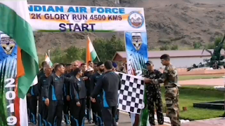 "Kargil to Kohima (K2K) ""Glory Run"""