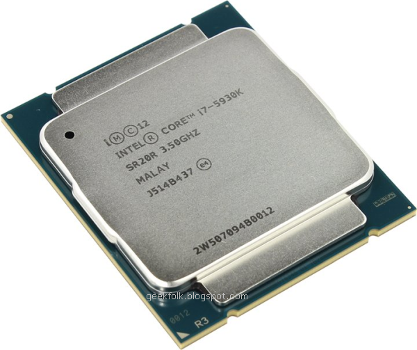 Intel Core i7-5930K 3.5GHz