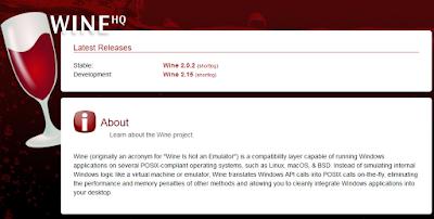 Cara Install Wine Versi Terbaru di Linux Mint dan Ubuntu