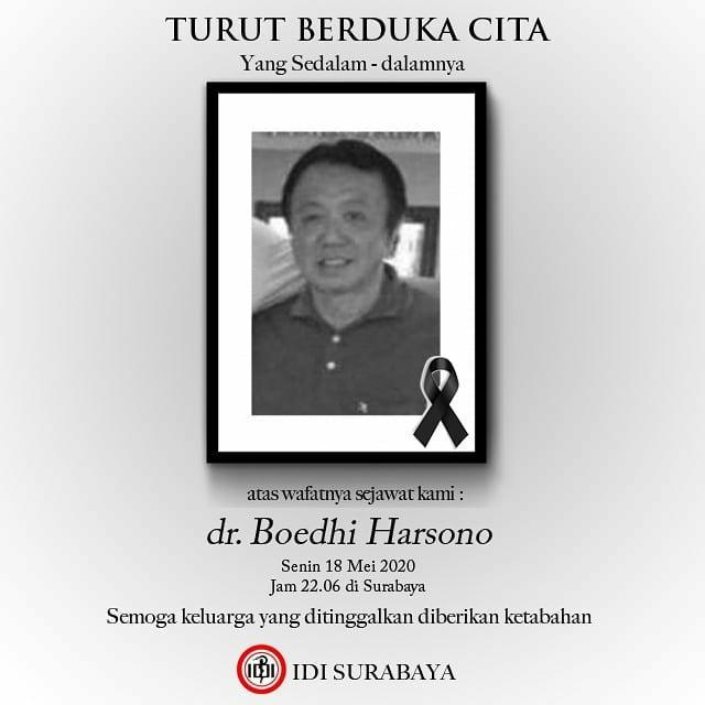 dokter surabaya meninggal covid