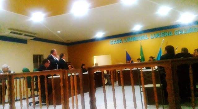 VOTAÇÃO DAS CONTAS DO PREFEITO SÉRGIO MIRANDA