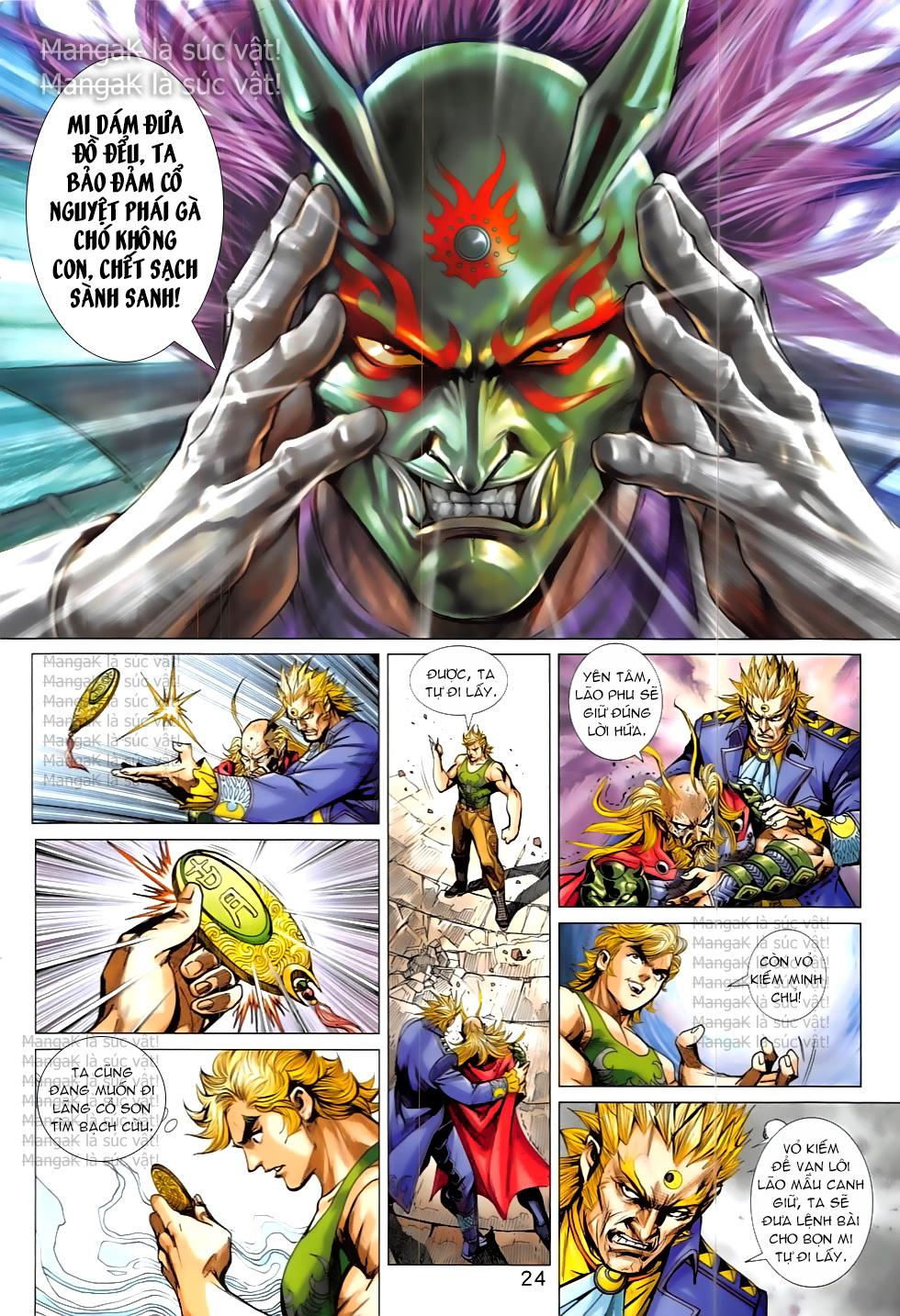 Tân Tác Long Hổ Môn Chap 824 page 24 - Truyentranhaz.net