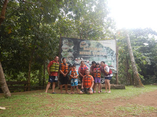 body rafting santirah Pangandaran