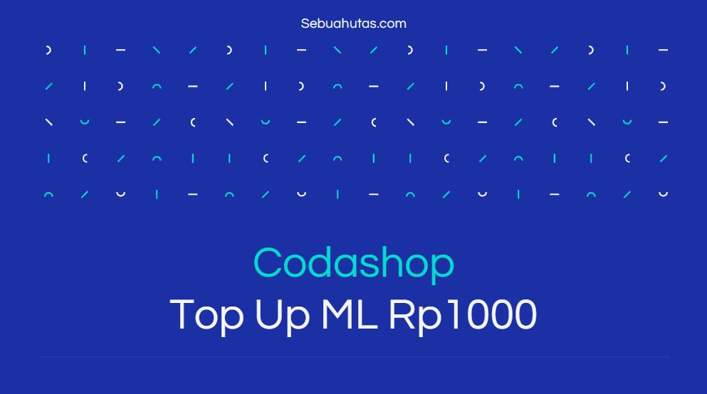 codashop top up ml mulai 1000 rupiah