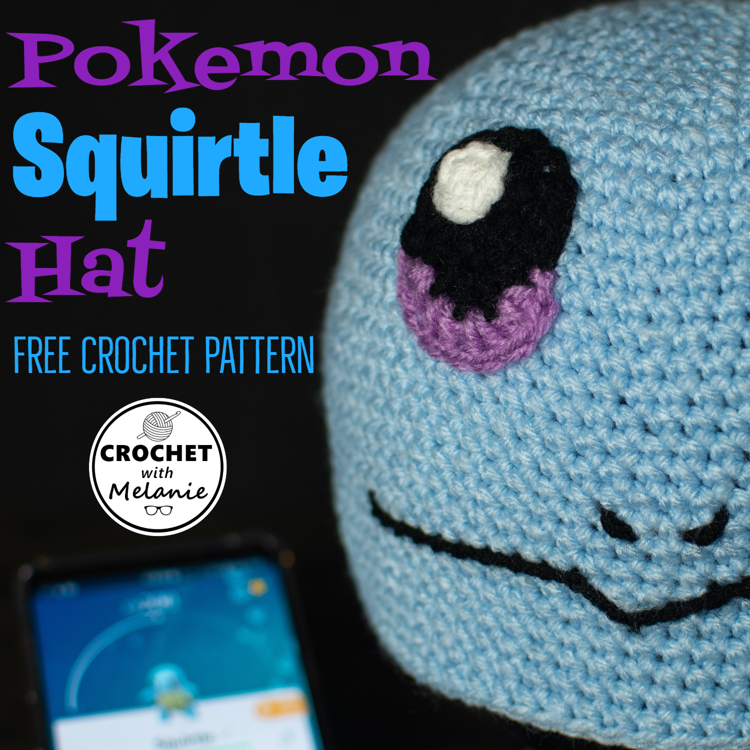 Pokemon Crochet Hat Patterns Snorlax Hat Free Crochet Pattern ... | 1500x1500