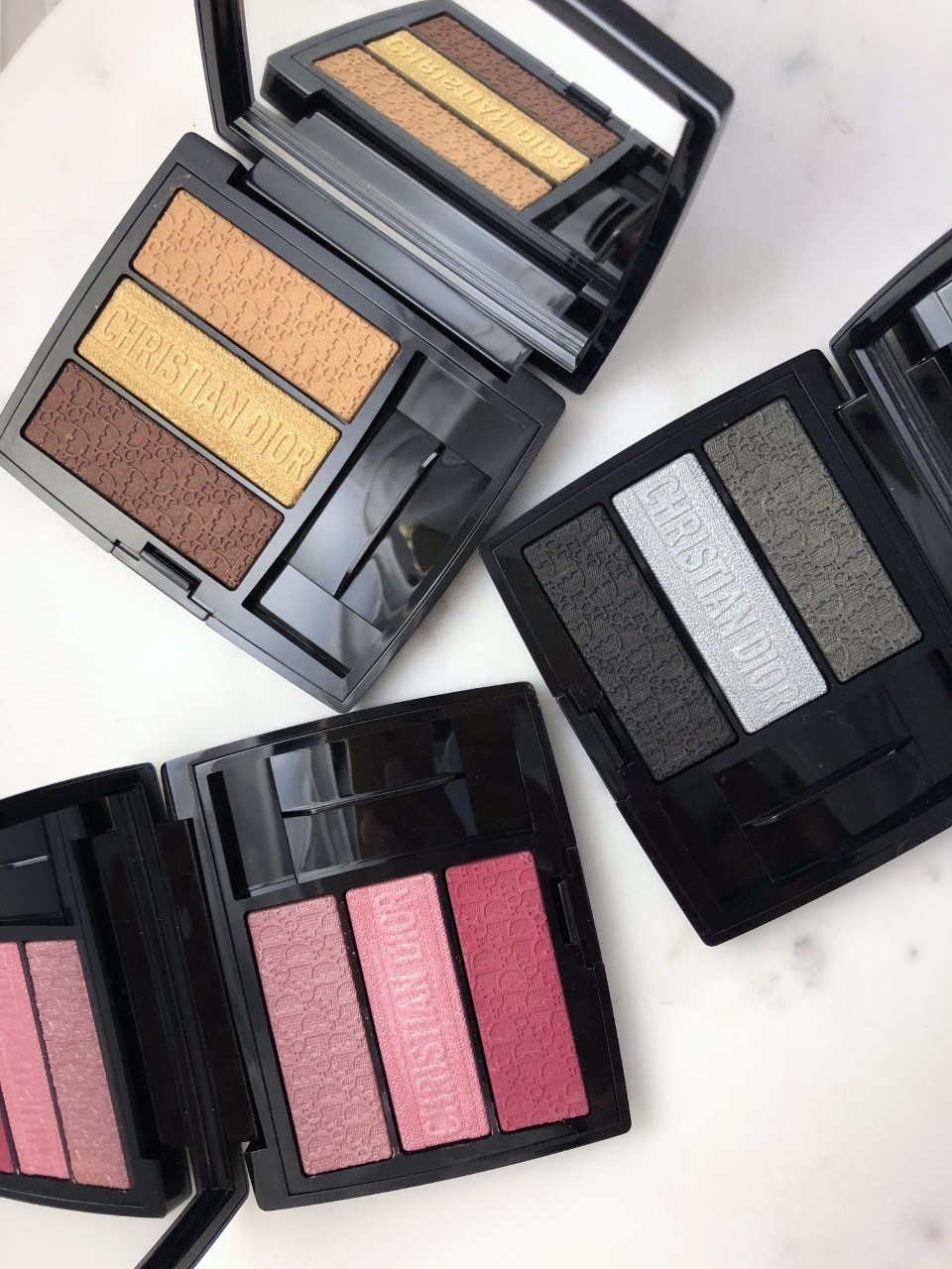 Dior 3 Couleurs Tri(O)blique Eyeshadow Palette: A quick review
