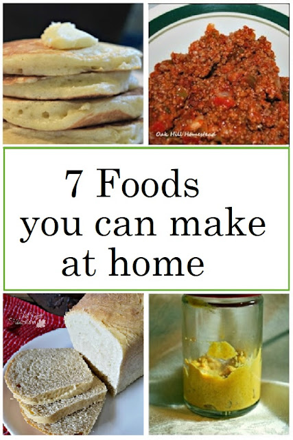 Start saving money by making these 7 foods from scratch.